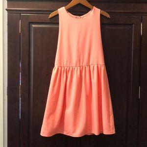 NWOT Everly pinafore style dress